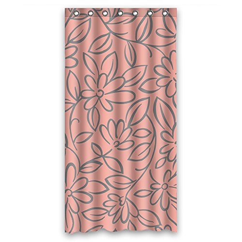 Cosbudy Polyester Shower Curtains Of Flower For Artwork Hotel Family Birthday Artwork. Home Fashion Width X Height / 36 X 72 Inches / W H 90 By 180 - Originals Canada Ore