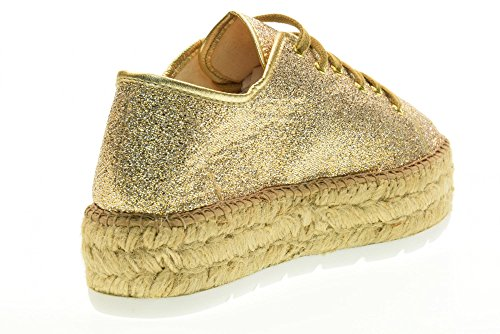 VICTORIA Corde 100 Basses Plateforme Taille Or 36 088 Avec Baskets Gold Femmes Les rtwq0Yr