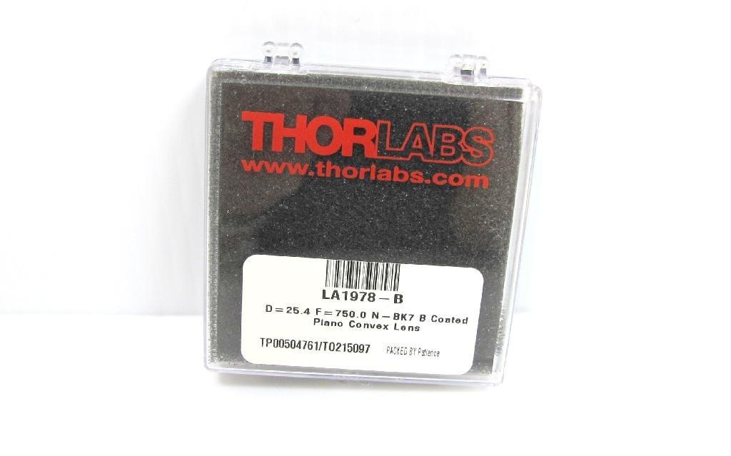 thorlabs la1978-b n-bk7 plano-convex球面レンズ B00QJ93EWW