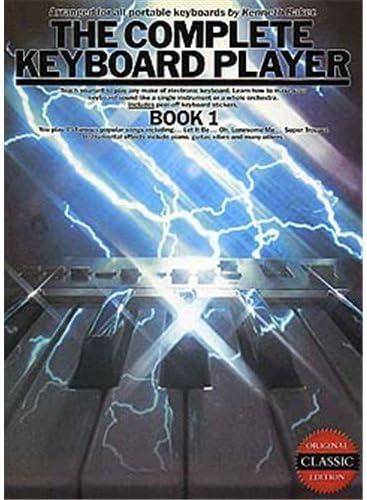 The Complete Keyboard Player: Book 1 (Book). Partituras para Teclado(Símbolos de los Acordes)