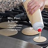Whiskware Pancake Batter Mixer with BlenderBall