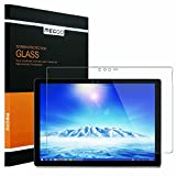 New Surface Pro 2017 Screen Protector [Tempered Glass] Megoo Bubble Free, Ultra Clear, Anti-Scratch, Friendly Touching, Also Compatible for Microsoft Surface Pro 4