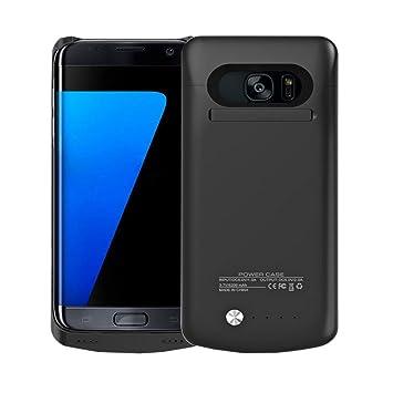 idealforce Samsung Galaxy S7 Edge Carcasa de batería, 5200 mAh externo poder banco cargador portátil de Funda Protectora Estuche de Carga para Samsung ...