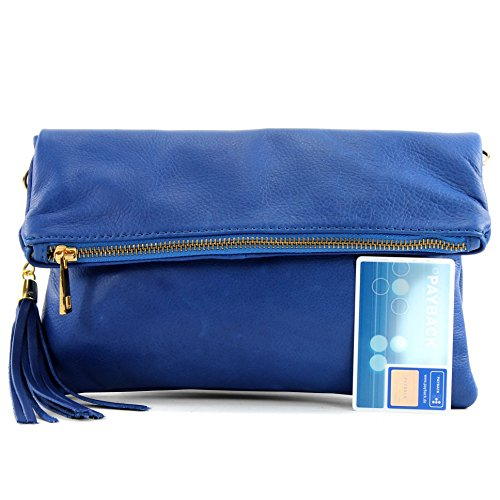 En T54kr Bag Modamoda Blau Of T54kr De Blau Shoulder De Ital Suede Gamuza Bolso Croco Croco Bolso Ital Piel Mano Fashionfashion Handbag Bandolera In Skin pfW6r8pR