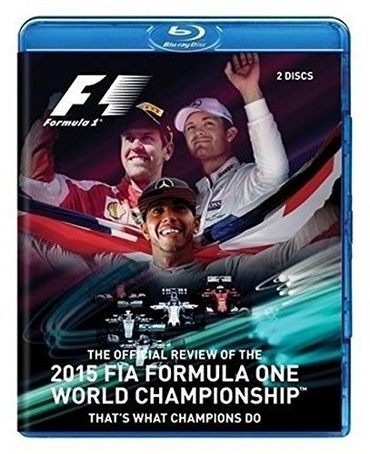 Blu-ray : F1 2015 Official Review (Blu-ray)