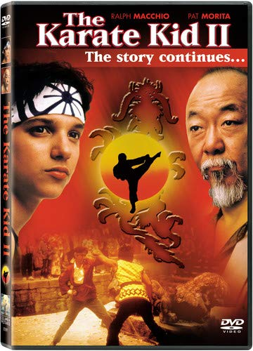 The Karate Kid Ii Ralph Macchio Noriyuki Pat Morita Martin Kove Yuji Okumoto John Avildsen Jerry Weintraub Columbia Pictures Cine Y Tv