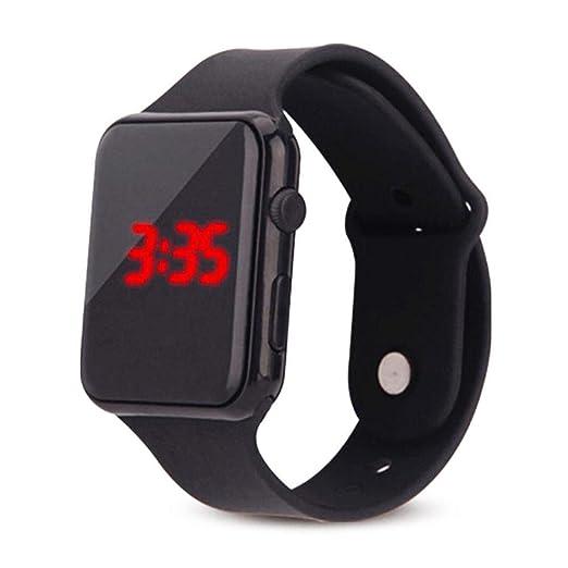 Reloj Deportivo Digital Touch Relojes para niños, Relojes de Pulsera de Silicona con Forma Cuadrada para niños y niñas - wetour: Amazon.es: Relojes
