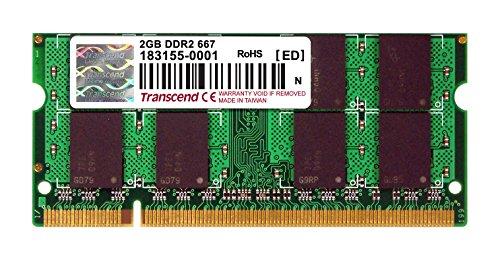 Transcend 2Gb Ddr2 667 So-Dimm 5-5-5 Ts256Msq64V6U