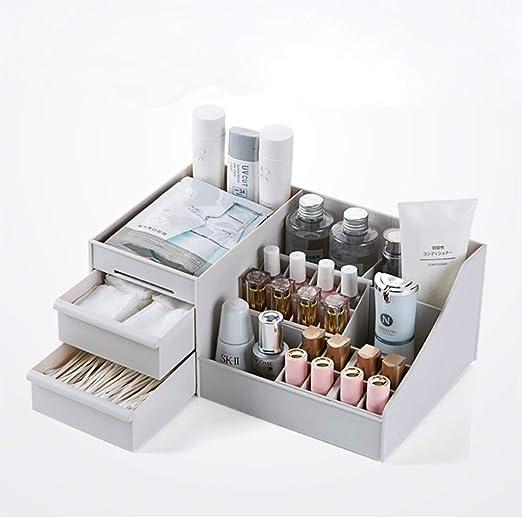 Caja de Almacenamiento de Cosméticos Maquillaje de almacenamiento ...