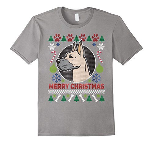 Men's Great Dane Dog Breed Owners Ugly Christmas T-shirt