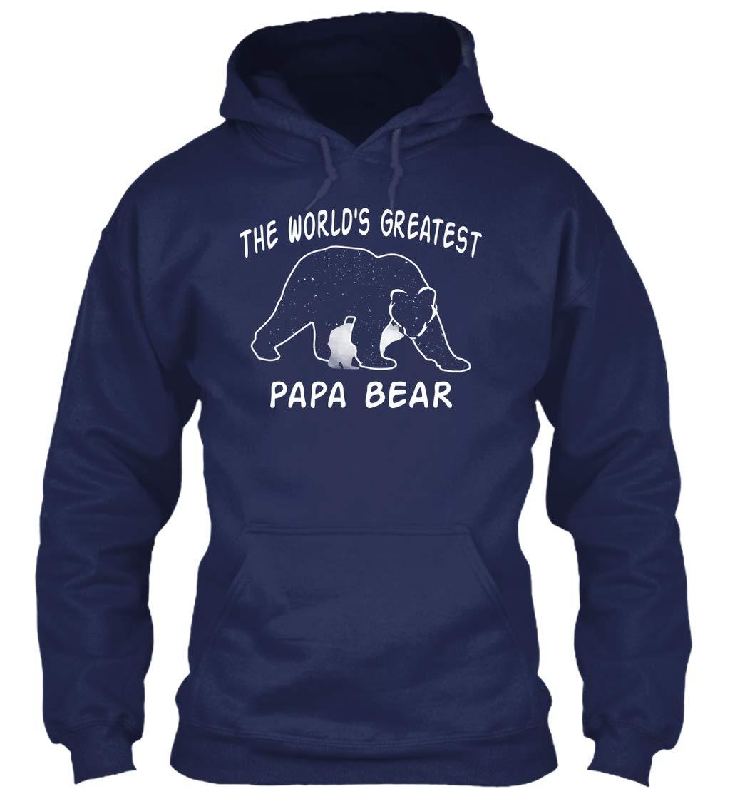 World Greatest Papa Bear Father 8oz Heavy Blend T Shirt