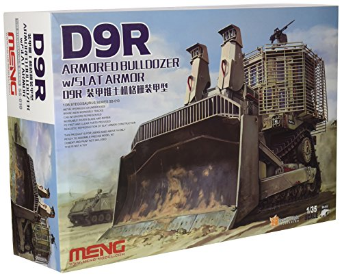 Meng 1:35 Scale D9R Armoured Bulldozer Model - Bulldozer Model