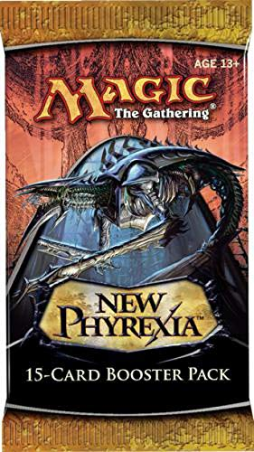 1 (0ne) Pack of Magic the Gathering: MTG New Phyrexia Booster Pack (15 Cards/... Wizards of the Coast