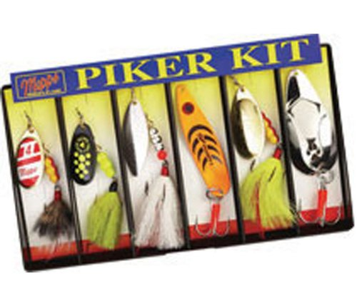 Mepp's Dressed Lure Assortment Piker Kit