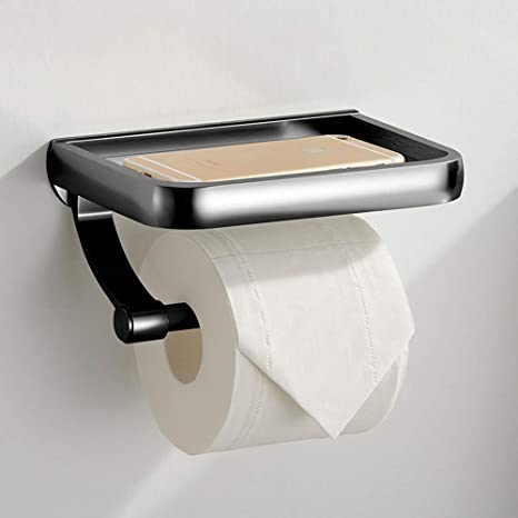 Bathroom Stainless Steel Wall Mount Toilet Tissue Paper Holder Bath Accessory US