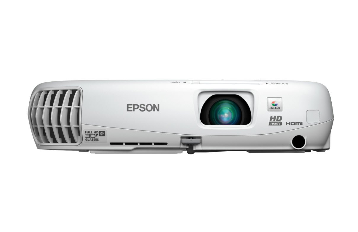 ac4f656448f005 Amazon.com: Epson Home Cinema 750HD, HDMI, 3LCD, 2D/3D, 3000 Lumens Color  and White Brightness, Home Entertainment Projector: Electronics
