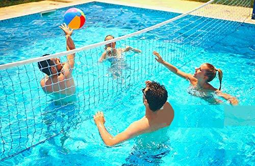 virtualsurround 9186 Cross Inground水泳プール楽しいバレーボールネットゲーム水セット B07DDHCKRW