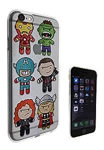c0354 - Cute fun Cool super hero boys popular cartoon retro art Design iphone 4 4S Fashion Trend CASE Gel Rubber Silicone All Edges Protection Case Cover