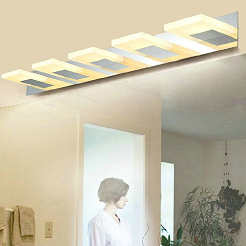"ZOCKUP""25 Watt"" Warm White Contemporary Mirror | Bathroom Light with 3 Years Warranty Fixtures at amazon"