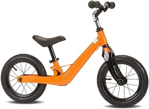 YUMEIGE Bicicletas sin Pedales Bicicletas sin Pedales Rueda Neumática De Competición, Bicicleta de Equilibrio para niños Aleación De Magnesio, Bicicleta Sin Pedales con Manillar Giratorio De 360 °: Amazon.es: Jardín