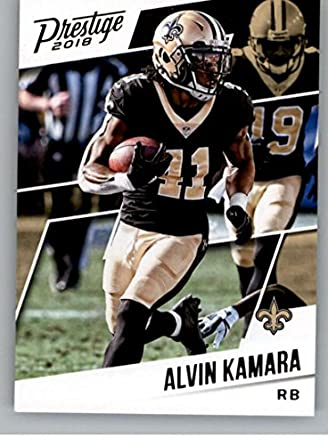 16b4852ad Amazon.com  Football NFL 2018 Prestige  190 Alvin Kamara Saints ...