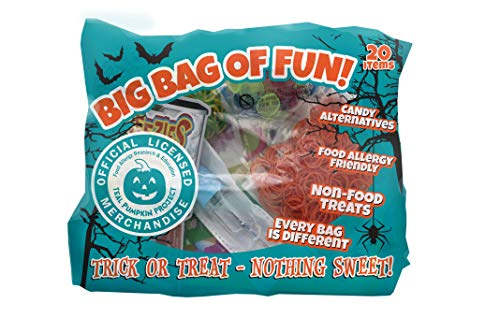 Just For Laughs Big Bag of Fun Teal Pumpkin Project Halloween Party Favors - 20 items]()