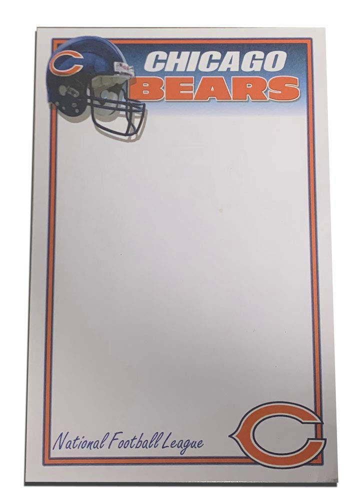 International Design Chicago Bears 50 Sheet Note Pad