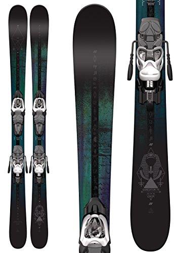 K2 Shreditor 75 Jr Skis w/ Marker Fastrak2 4.5 Binding Kids Sz (All Terrain Junior Skis)