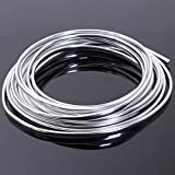 SODIAL 20FT Chrome Moulding Trim Strip Car Door