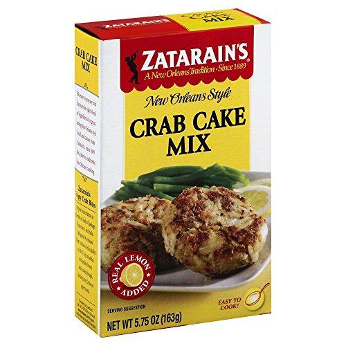 Style Crab Cakes (Zatarain's Mix Crab Cake 5.75 OZ(Pack of 2))