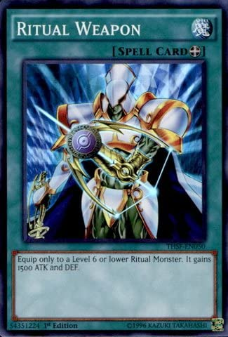 - The Secret Forces Preparation of Rites 1st Edition Yu-Gi-Oh! Super Rare by Yu-Gi-Oh! THSF-EN053