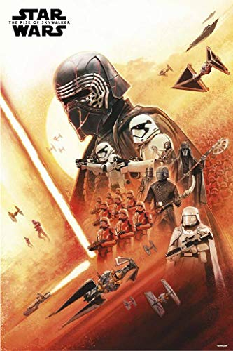Star Wars: Episode IX - The Rise of Skywalker - Movie Poster (Kylo Ren & The Dark Side) (Size: 24 x 36 inches)
