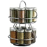 Kamenstein 16-Jar Chrome Revolving Spice Rack