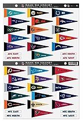 NFL Rank 'Em All 32 Teams Mini Pennant M...