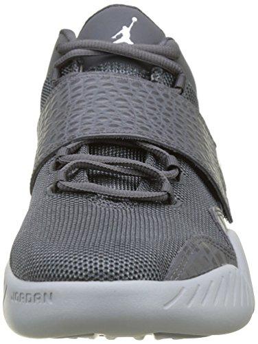 Nike Herren 854557-002 Basketball Turnschuhe Grau