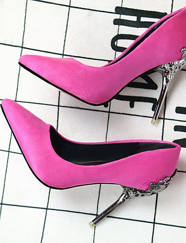 eu35 Heels Party Damen Toe Pumpe Abend Schuhe cn34 us5 uk3 Hochzeit Heels Heel Leder Frauen High Stiletto pink GGX Kleid amp; Spitz H0qgd0F