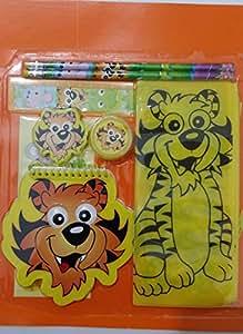 Tiger stationery set