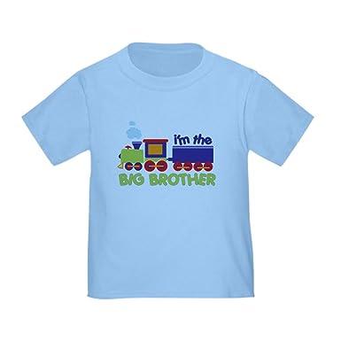 e03cfa6e Amazon.com: CafePress - I'm The Big Brother Train Toddler T-Shirt ...