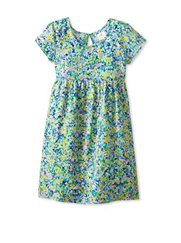 O'NEILL LITTLE GIRLS ALISON DRESSES, PARROT, SIZE M