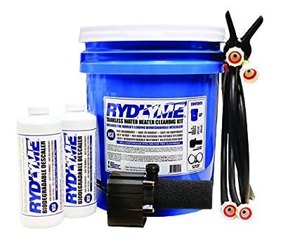 RYDLYME Biodegradable Descaler Tankless Water Heater Cleaning Kit (RTK)