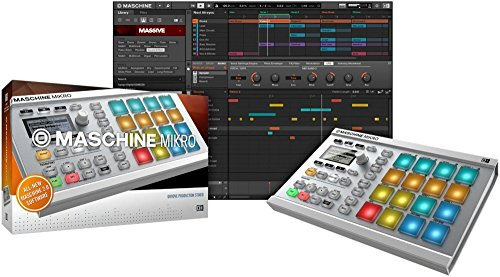 Native Instruments MASCHINE MIKRO MK2 White (White) by Native Instruments