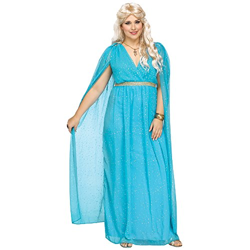 Fun World Women's Plus Size Divine Goddnes Costume,