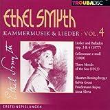 V4: Chamber Music & Lieder: Lieder Opp.3 & 4; Cello Sonata Cminor; Three Moods of the Sea