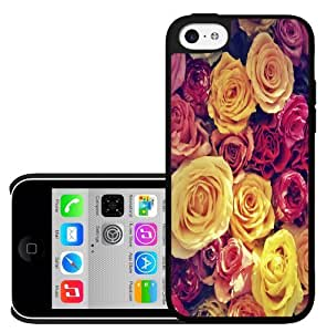 Colorful Assorment of Roses Hard Snap on Phone Case (iPhone 5c)