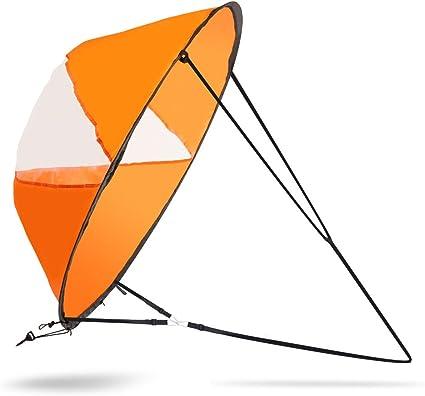 Amazon.com: VGEBY - Vela de viento, plegable, para kayaks ...