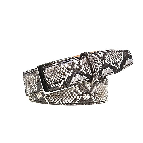 Natural Python Leather Belt by Roger Ximenez: Bespoke Maker of Fine Leather Goods