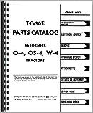 Mccormick Deering O4 Tractor Parts Manual