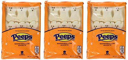 Halloween Peeps Spooky Ghosts 9 count (Pack of 3)