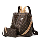 Best Backpack For Teenage Girls - Backpack for women Fashion Leather Ladies Rucksack Crossbody Review
