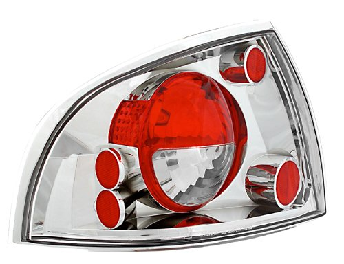 IPCW CWT-CE1112C Crystal Eyes Crystal Clear Tail Lamp - (Clear Tail)